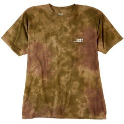 Lost Surfboards Mens Mainframe Wash Camo Tie Dye