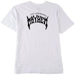 Lost Surfboards Mens Mayhem Solid T-Shirt