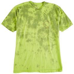 Lost Surfboards Mens Mushy Wash Tie Dye Graphic T-Shirt