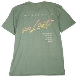 Lost Mens Sharp Graphic T-Shirt