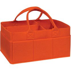 Trend Lab Burnt Orange Felt Storage Caddy