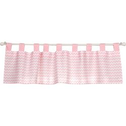 Trend Lab Pink Sky Window Valance