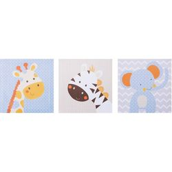 Trend Lab Jungle Fun 3-pc. Canvas Wall Art Set