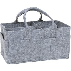 Trend Lab Grey Felt Storage Caddy