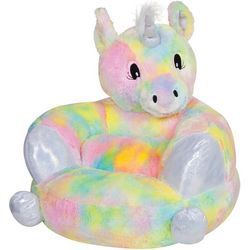 Trend Lab Plush Rainbow Unicorn Character Chair