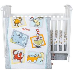Dr. Seuss Friends 5-pc. Crib Bedding Set