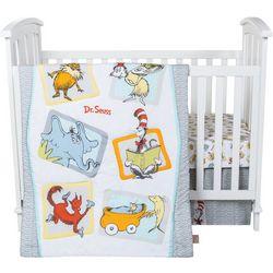 Trend Lab Dr. Seuss Friends 5-pc. Crib Bedding