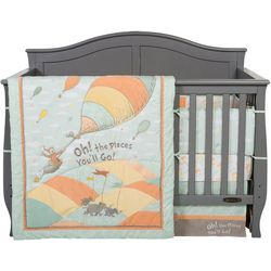 Dr. Seuss Oh, the Places You'll Go! 5-pc. Crib Bedding Set