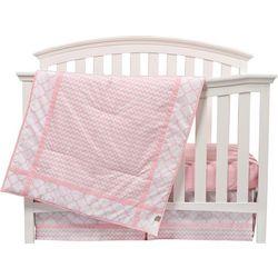 Trend Lab Pink Sky 3-pc. Crib Bedding Set