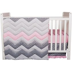 Trend Lab Cotton Candy 3-pc. Crib Bedding Set