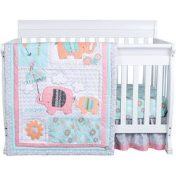Trend Lab Playful Elephants 3-pc. Crib Bedding Set