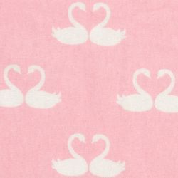 Trend Lab Swan Fairy Tale Deluxe Flannel Fitted Crib Sheet