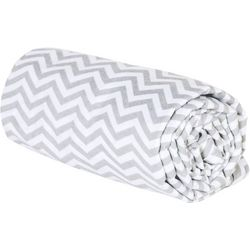 Trend Lab Grey Chevron Deluxe Flannel Swaddle Blanket