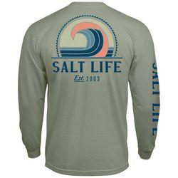 Salt Life Mens Big Barrel Long Sleeve T-Shirt
