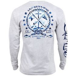 Salt Life Mens Salt Water Wind Long Sleeve T-Shirt