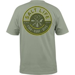 Salt Life Mens Friction Short Sleeve T-Shirt