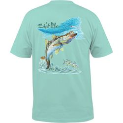 Salt Life Mens Surf Snook T-Shirt