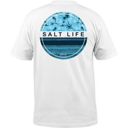 Salt Life Mens Batik Palm T-Shirt