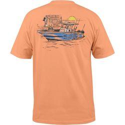 Salt Life Mens Bait Shop Dock T-Shirt