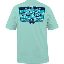 Salt Life Mens Major Salt Pocket T-Shirt