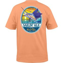 Salt Life Mens Sailing Ale Pocket T-Shirt