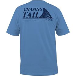 Salt Life Mens Throwing Line Pocket T-Shirt