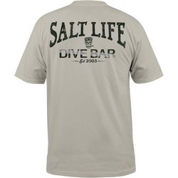 Salt Life Mens Dive Bar Pocket Short Sleeve T-Shirt