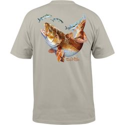 Salt Life Mens Red Rover Pocket Short Sleeve T-Shirt