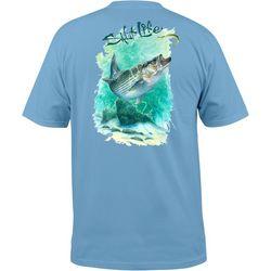 Salt Life Mens Striper Crazy T-Shirt
