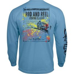 Salt Life Mens Rod And Reel Long Sleeve T-Shirt