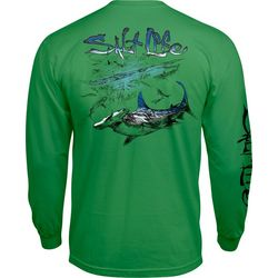 Salt Life Mens Hammerhead Craze Long Sleeve T-Shirt