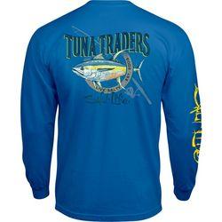 Salt Life Mens Tuna Trader Long Sleeve T-Shirt
