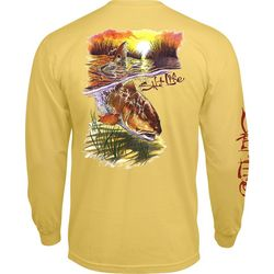 Salt Life Mens Bulldozing Long Sleeve T-Shirt