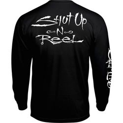 Salt Life Mens Shut Up N Reel Long Sleeve Pocket T-Shirt