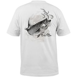 Salt Life Mens Striper Pocket T-Shirt