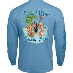 Salt Life Mens Swim Team Long Sleeve T-Shirt