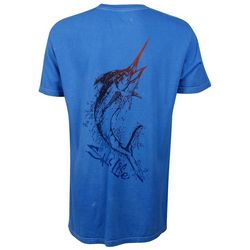 Salt Life Mens Air Marlin Pocket T-Shirt
