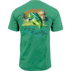 Salt Life Mens Wish You Were Here Short Sleeve T-Shirt
