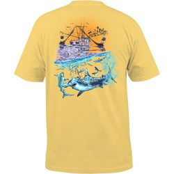 Salt Life Mens Shark Pocket T-Shirt