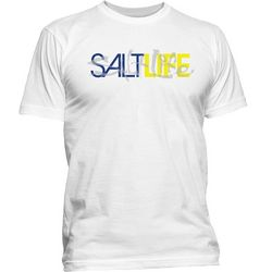 Salt Life Mens Dual Logo T-Shirt