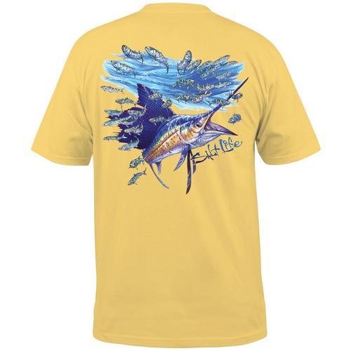 e6770ffb6ad71 Salt Life Mens Slashing Sail Pocket T-Shirt | Bealls Florida