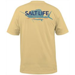 Salt Life Mens Saltwater Sport Pocket T-Shirt