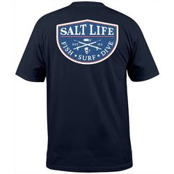 Salt Life Mens Fish Surf Dive T-Shirt