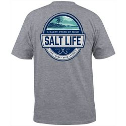 Salt Life Mens Scenic State Heathered T-Shirt
