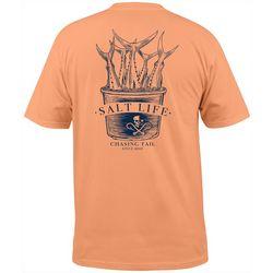 Salt Life Mens Tuna On The Rocks Short Sleeve T-Shirt