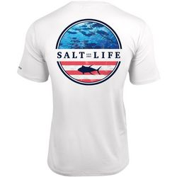 Salt Life Mens Respect Performance Short Sleeve T-Shirt