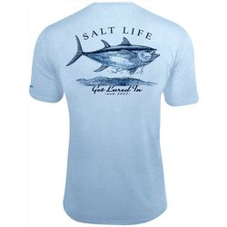 Salt Life Mens Get Lured In Performance Short Sleeve T-Shirt