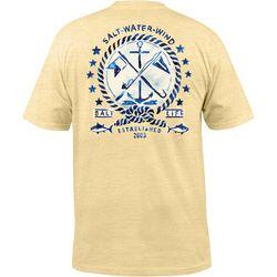 Salt Life Mens Salt Water Wind Sunburnt Pocket T-Shirt