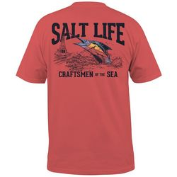 Salt Life Mens Craftsmen Of The Sea Pocket T-Shirt