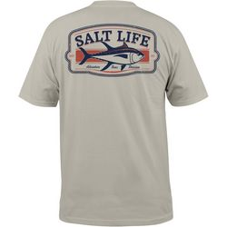 Salt Life Mens Adventure Sea Pocket T-Shirt